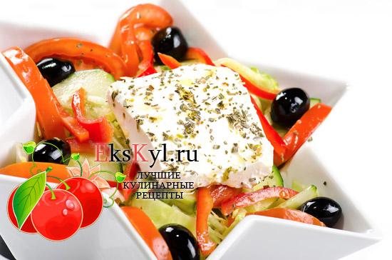 Рецепт салата Морская-звезда