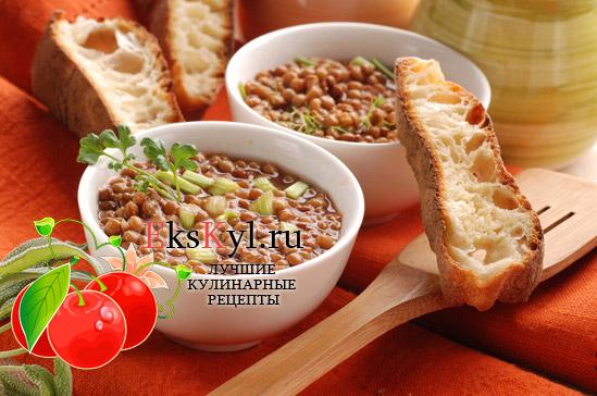 Рецепт чечевичного-супа