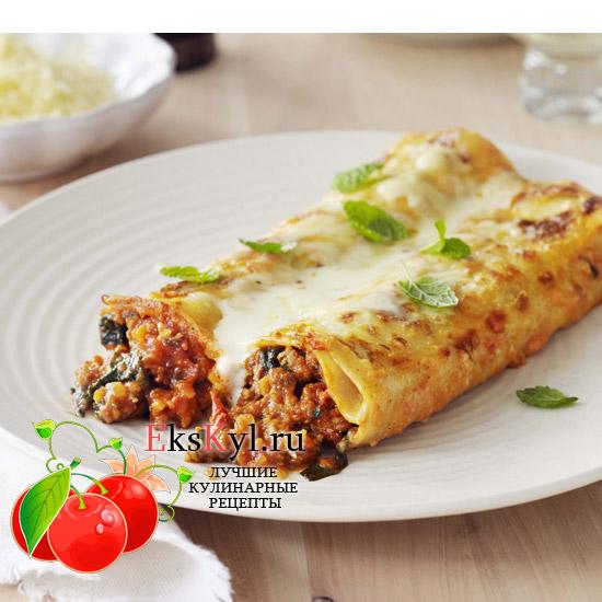 Cannelloni рецепт с фаршем