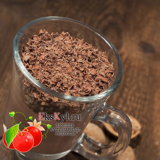 Рецепт шоколадного-мусса