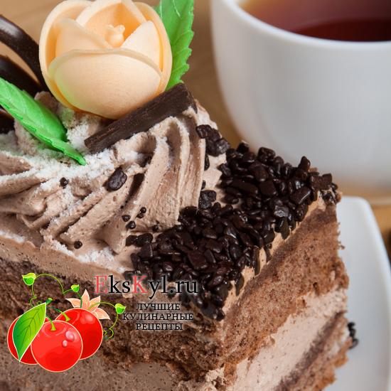 Рецепт шоколадного-торта
