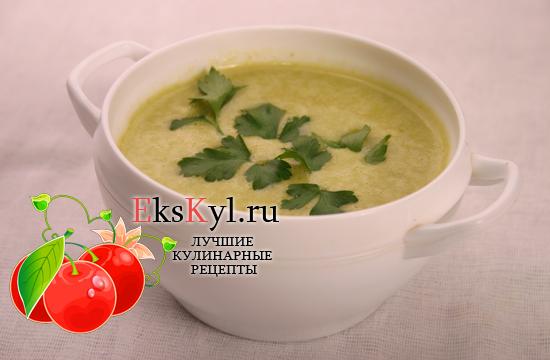 Рецепт супа-пюре из брокколи