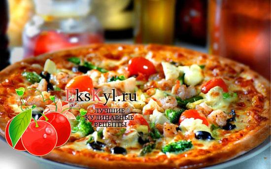 Рецепт приготовления пиццы в микроволновке