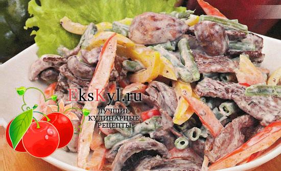 Салат Нептун рецепт с креветками