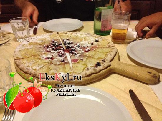 Вегетарианская пицца