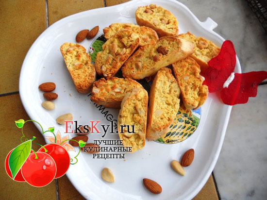 Рецепт печенья кантуччи