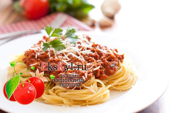 Рецепт томатного соуса для спагетти