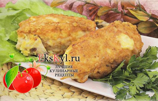 Рецепт приготовления фаршированной курицы