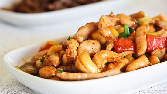 Рецепт курицы с орехами кешью по-тайски