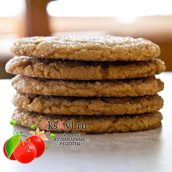 Классический рецепт имбирного печенья