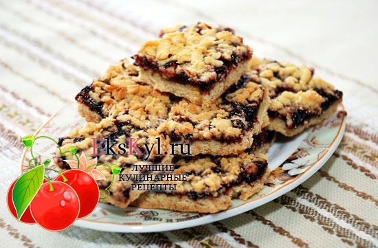 Печенье на терке с вареньем рецепт