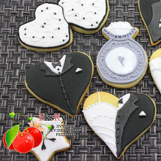 Печенье сердечки рецепт с шоколадом
