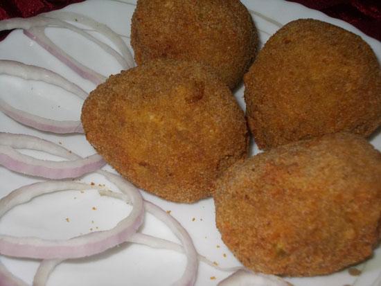 Рецепт рубленных куриных котлет с майонезом