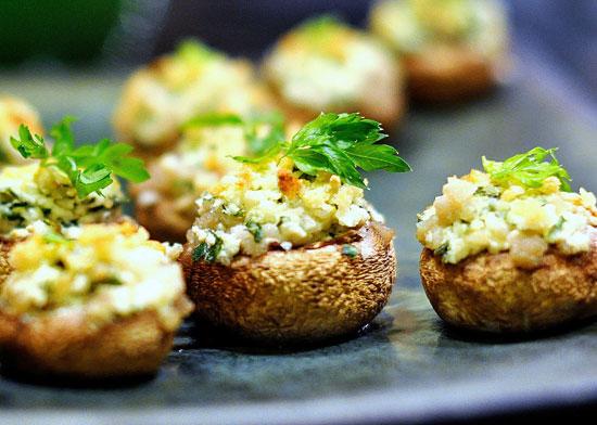 котлеты с грибами и сыром в духовке фото рецепт