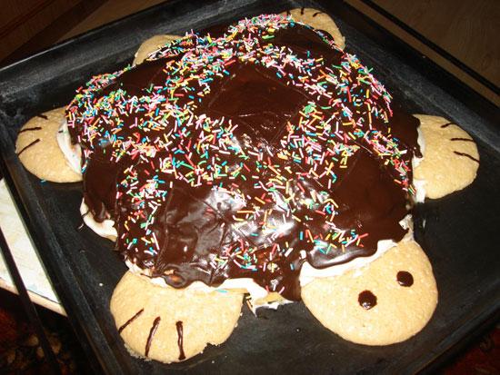 Готовим торты дома с фото