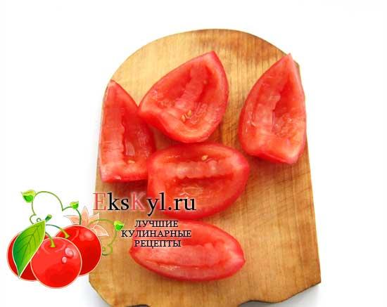 подготовьте помидор