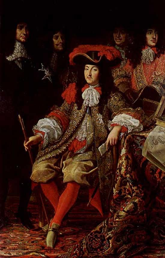 Деловой обед Людовика XIV