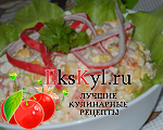 Что можно добавить в салат с крабовыми палочками и кукурузой