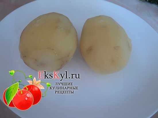 Остужаем картофель