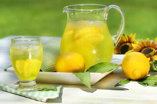 Прохладительные напитки в жаркие дни