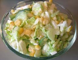 салат из кукурузы и фасоли