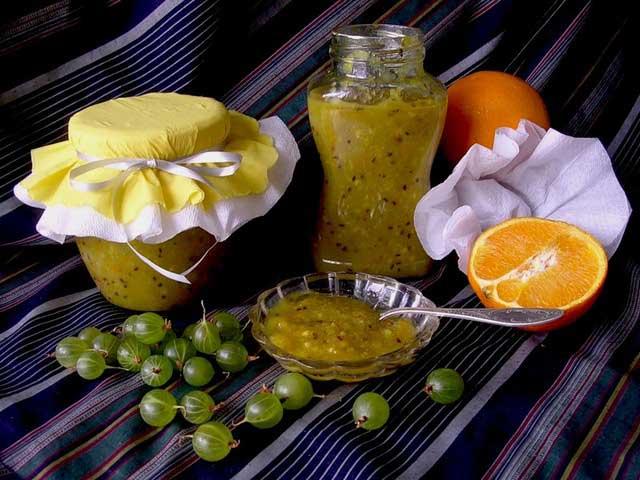 Рецепт варенья из крыжовника с бананом - Варенье