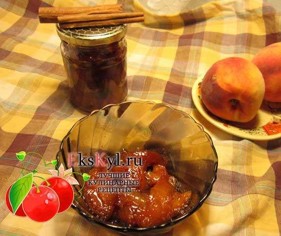 Как варить персиковое варенье в мультиварке
