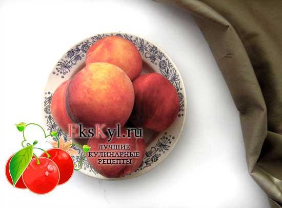 Персики хорошо отмыть