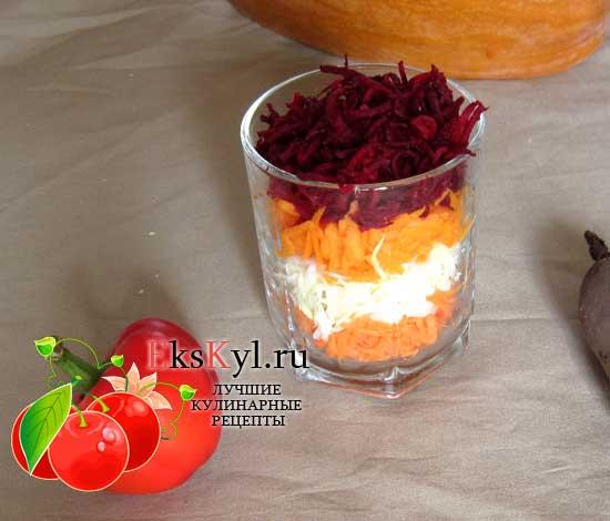 Салат щетка для похудения, рецепт приготовления