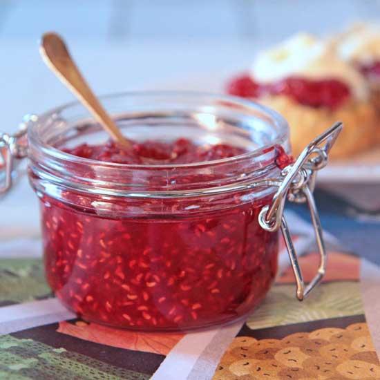 Рецепт варенья пятиминутка из малины
