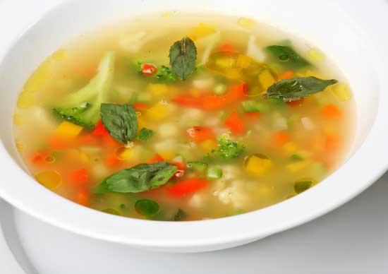Как приготовить овощной суп из индейки