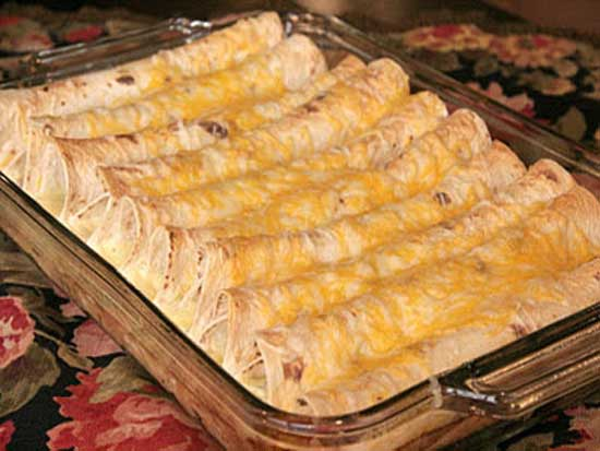 Рулет из лаваша с сыром