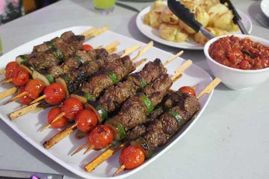 Рецепт люля-кебаб на мангале или решетке