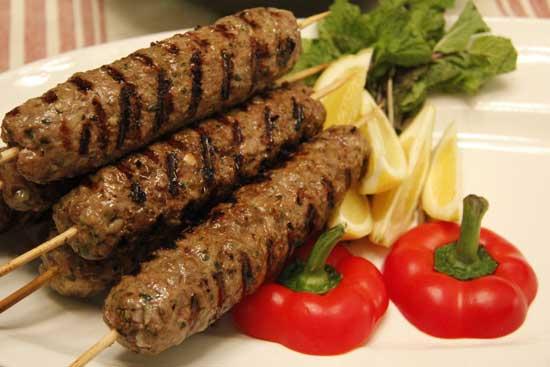 Рецепт люля-кебаб из свинины