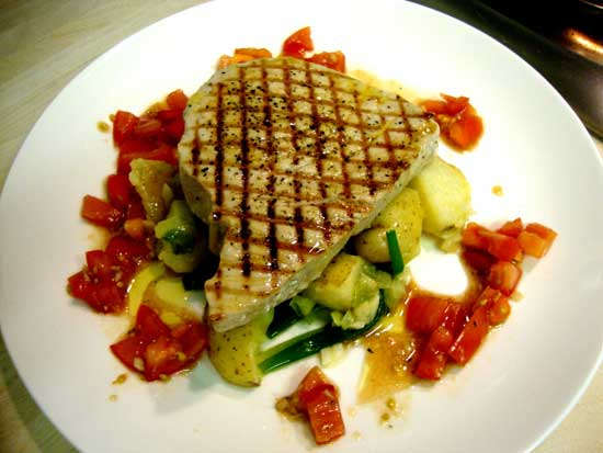 Рецепт стейка из тунца