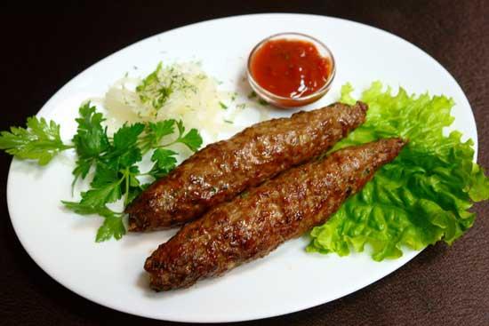 Рецепт люля-кебаб из баранины в духовке