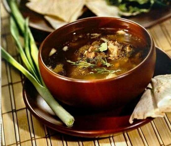 Рецепт приготовления хашламы из баранины: