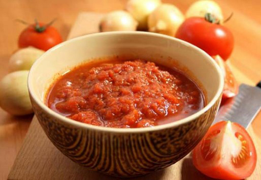 самый простой рецепт аджики из помидоров
