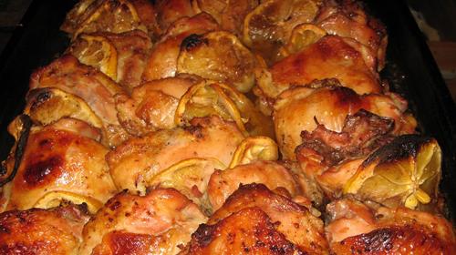 Рецепт бедрышек в духовке