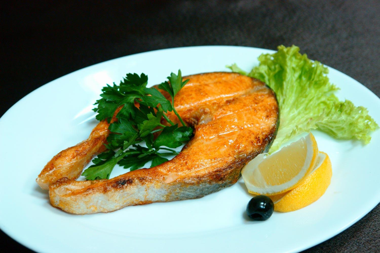 рецепт приготовления стейка из лосося