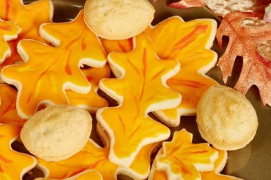 Печенье апельсиновое