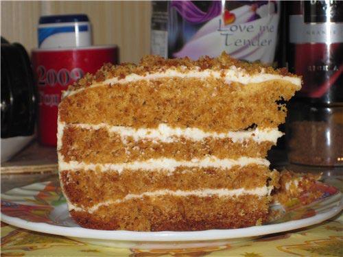 Торт бисквитный 03351