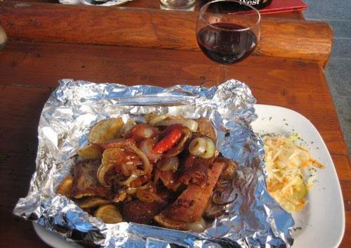 отбивные из свинины в фольге в духовке рецепт с фото