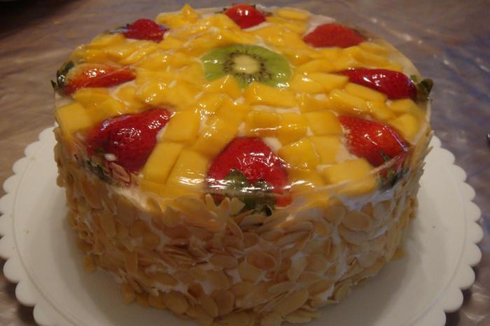 Торт бисквитный 06
