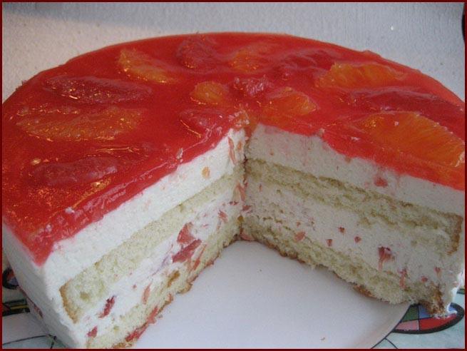 Торт бисквитный 07