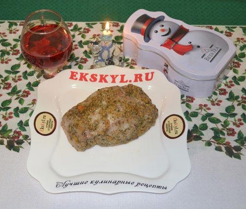 Буженина из свинины в духовке