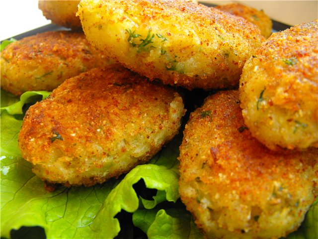 Котлеты овощные рецепт с фото пошагово