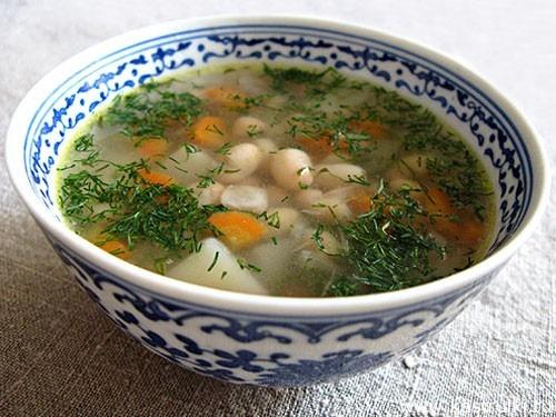 фасолевый суп с консервированной фасолью и тушенкой рецепт