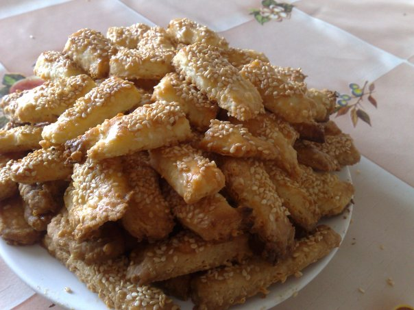 печенье с кунжутом рецепты