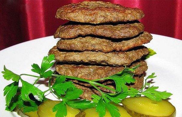 оладьи из печени говяжьей